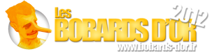 Logo Bobards d'or 2012