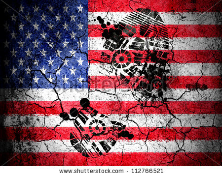 stock-photo-the-usa-flag-painted-on-cracked-ground-with-vignette-with-dirty-oil-footprint-over-it-112766521