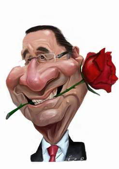 caricature-francois-hollande
