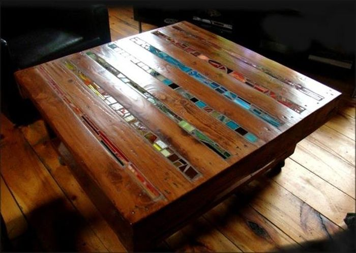 Pisos de paletes paletes and pisos on pinterest for Uses for used pallets
