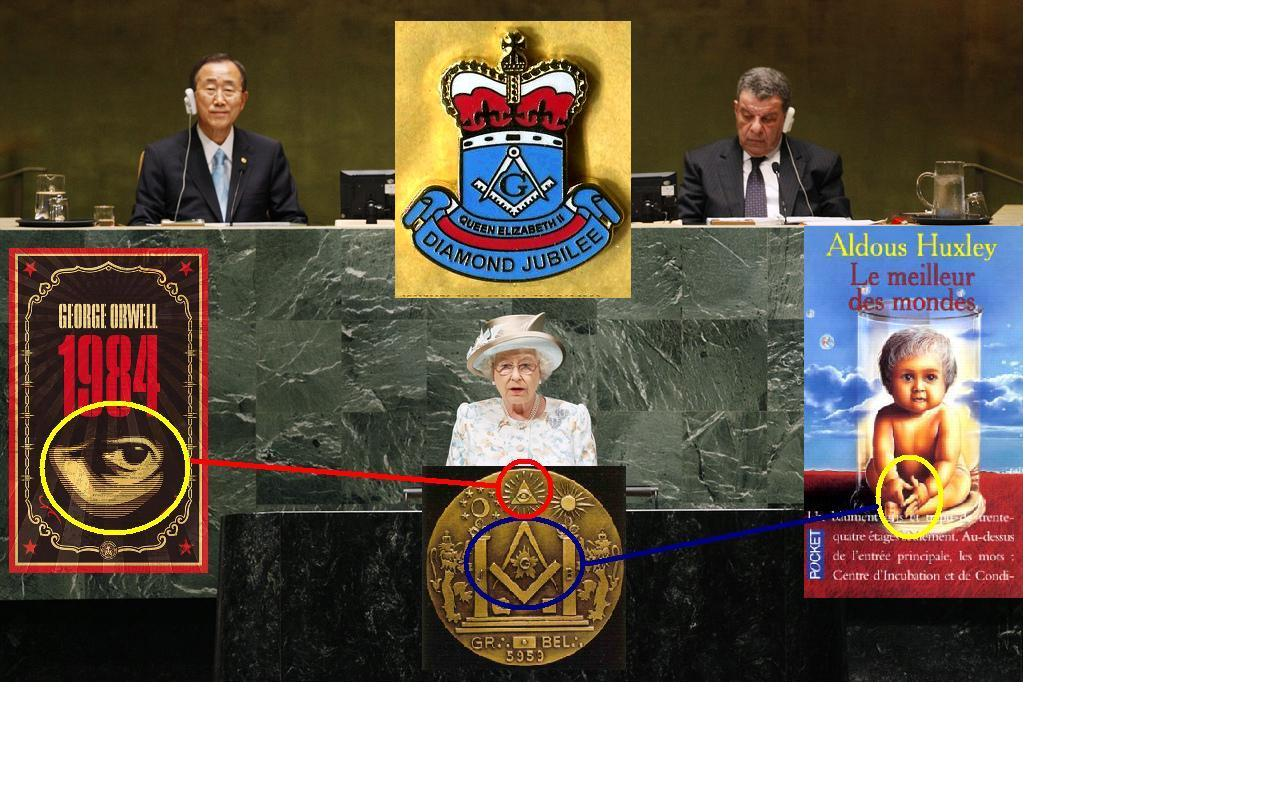 HM Queen Elizabeth II addresses the United Nations General Assembly.