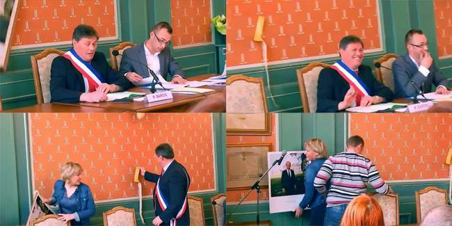 Video-quand-la-photo-officielle-de-Francois-Hollande-tombe-en-plein-conseil-municipal-d-un-maire-communiste