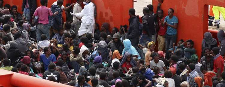 Migrants Italie