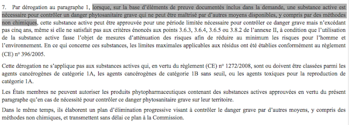 l_article_4-7_du_re_glement_110__2009_sur_les_crite_res_d_approbation_des_substances_actives