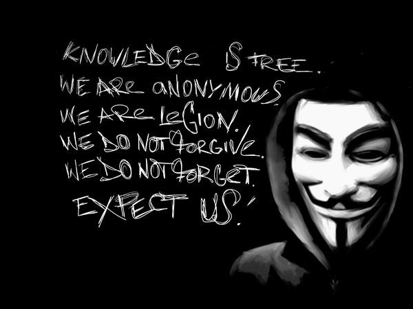 anonymous we are legion