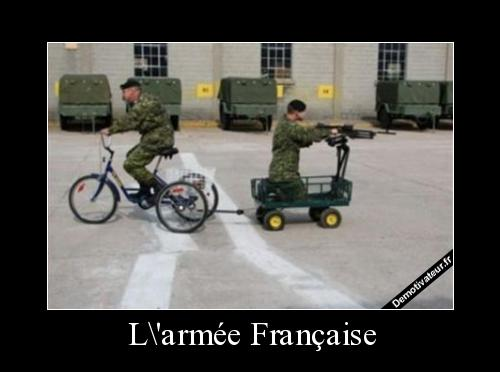Humour armée