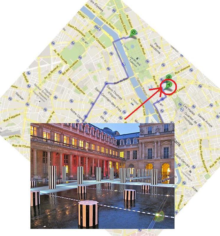 Plan de Paris - Buren