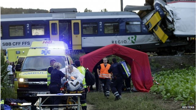 Accident trains