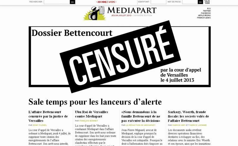Censure dossier Bettancour
