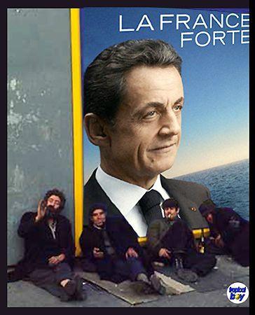 Sarko France forte