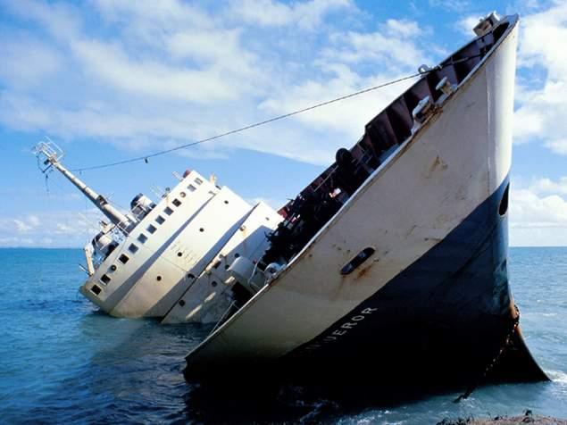 bateau qui coule 2