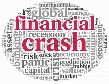 16212569-financial-crash-concept-in-info-text-graphics-on-white-background
