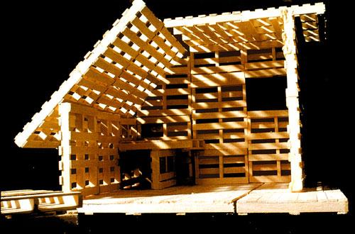 une cabane en palettes pour 364 euros 500 les moutons. Black Bedroom Furniture Sets. Home Design Ideas