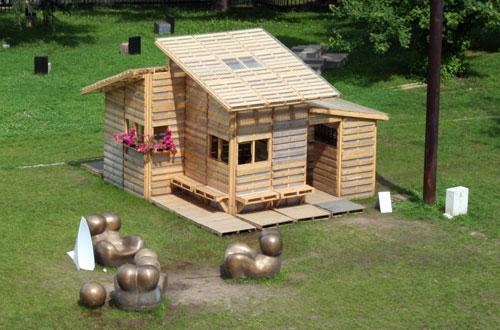 comment fabriquer un cabane en palette