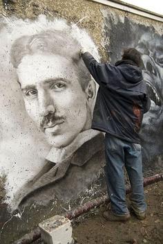 Tesla Street Art