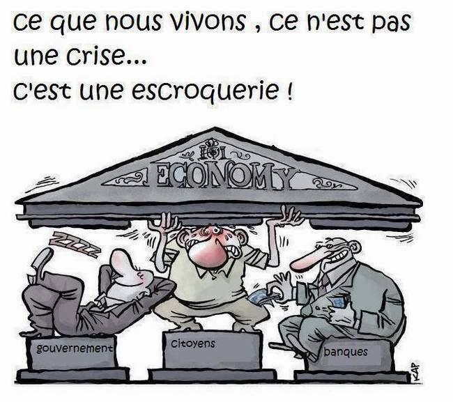 escroquerie économie banques gouvernement