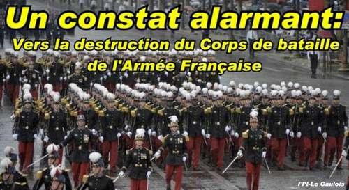 À quand l'Armée Française au garde à vous sur un terrain de tennis