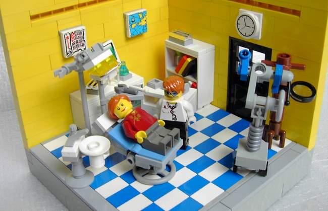 Dentiste lego