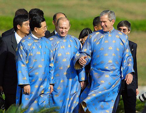 Jintao Poutin Bush