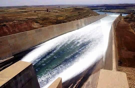 Mosul_Dam_chute_spillway