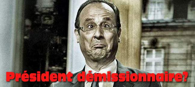 Hollande démission