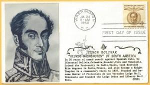 Simon Bolivar - Freemason