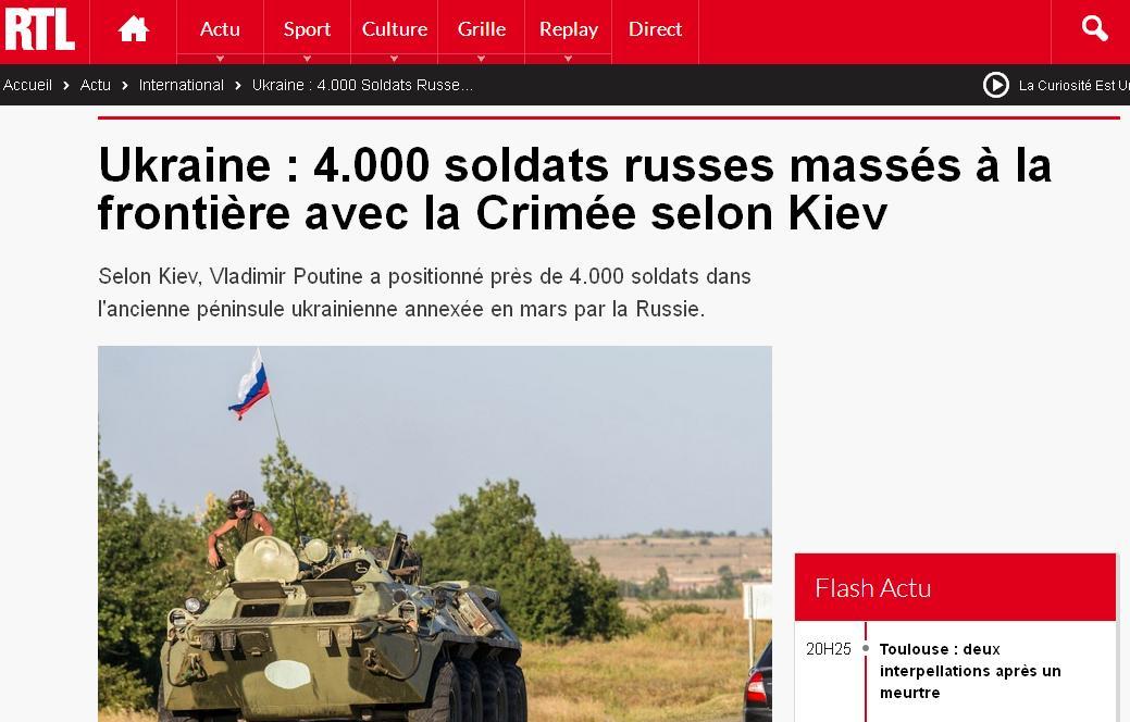soldats russe crimée rtl