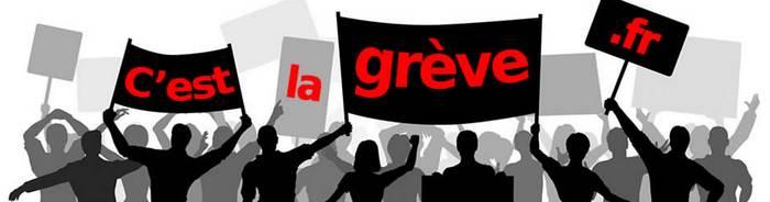 grèves en France