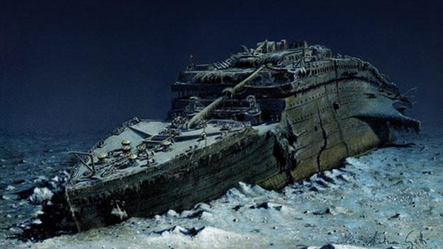 titanic-wreckage