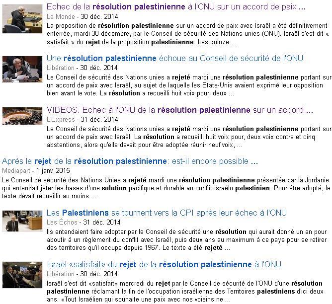 palestine google actu