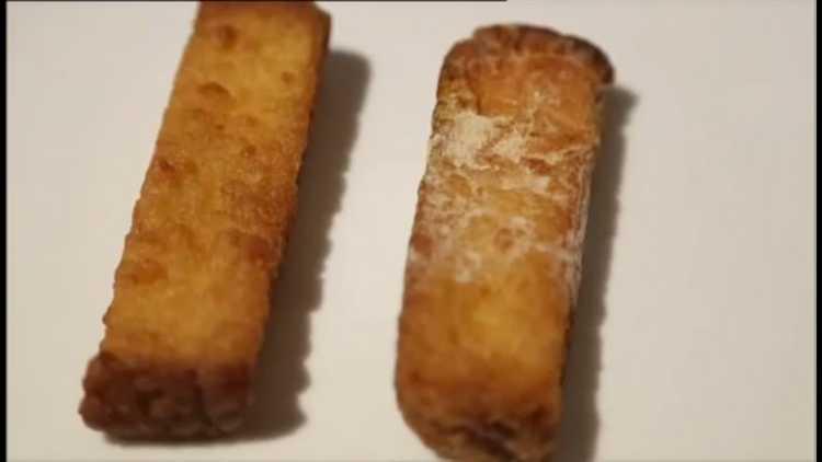 Frites ionisées