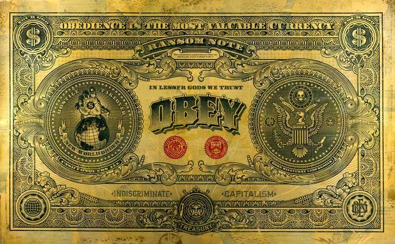 1984 Orwell dollar billet