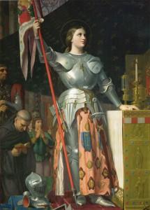 Jeanne d'Arc au sacre de Reims