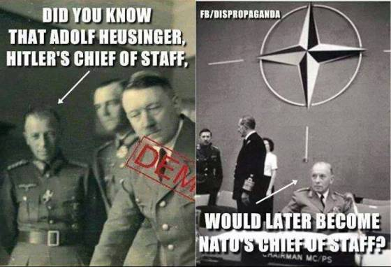 NAZI Adolf Heusinger - NATO Cheif of Staff