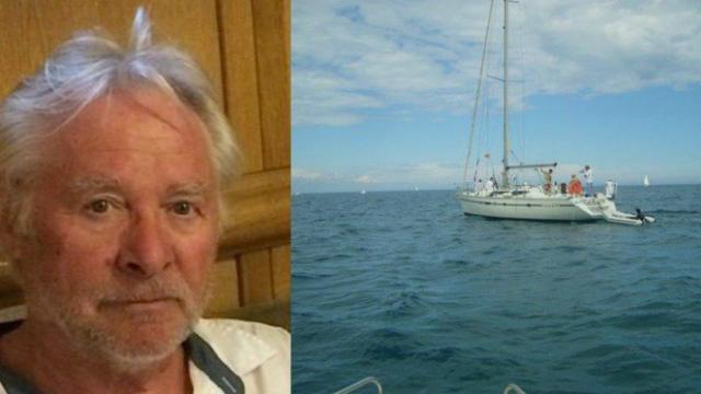 Jacques-Franck Bristiel. Trois fois médaillé d'or au concours Lépine, cet inventeur, bardé de diplômes, vit depuis 2005 sur ce voilier au Barcarès | (Photos : DR)
