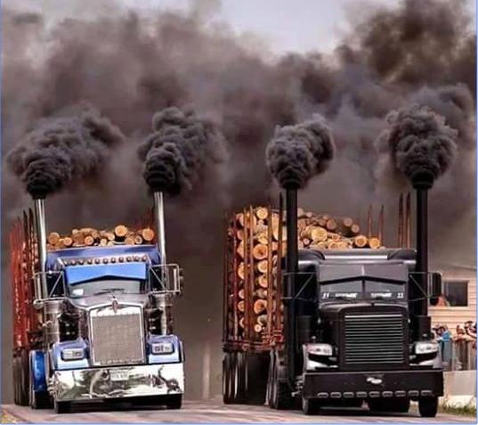 Camions US en route pour la COP21