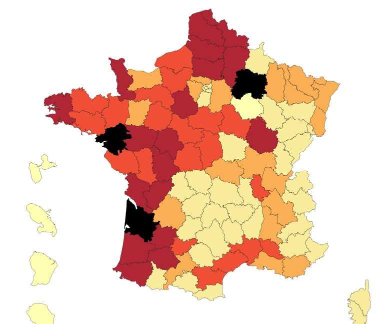 carte pesticides france