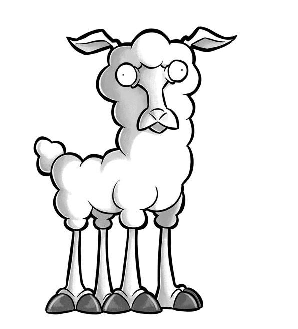 mouton colère