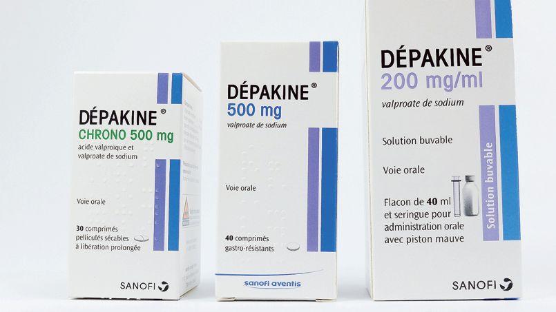 DÉPAKINE appartient à une famille de médicaments appelés antiépileptiques. Comprimé gastrorésistant Ce médicament est utilisé pour le traitement des différentes formes d'épilepsie chez l'adulte et l'enfant âgé de plus de 6 ans et pesant 17 kg Effets secondaires et indésirables - Valproate de sodium