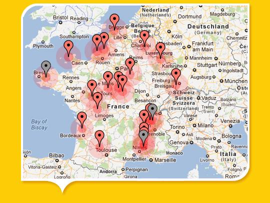 CARTE EXCLUSIVE — Les déchets radioactifs s'entassent partout en France … - Les moutons enragés