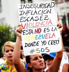 insécurité, inflation, pénurie, violence, ce n'est pas le Venezuela où j'ai grandi