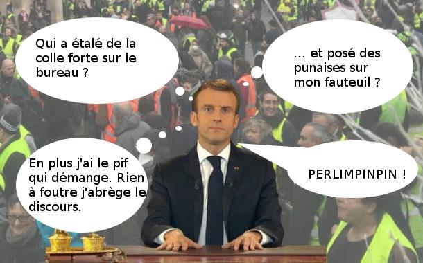 (dossier gilets jaunes) Hausse des carburants : le prétexte écolo Macron-gilets-jaunes