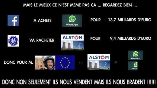 Alstom, vente
